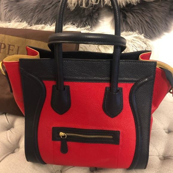 Vera Pelle Handbags - Leather Satchel Handbag ❤️